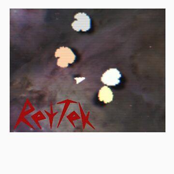 RetTek - Space Rocks! Parody Video Game T-Shirt by rettek
