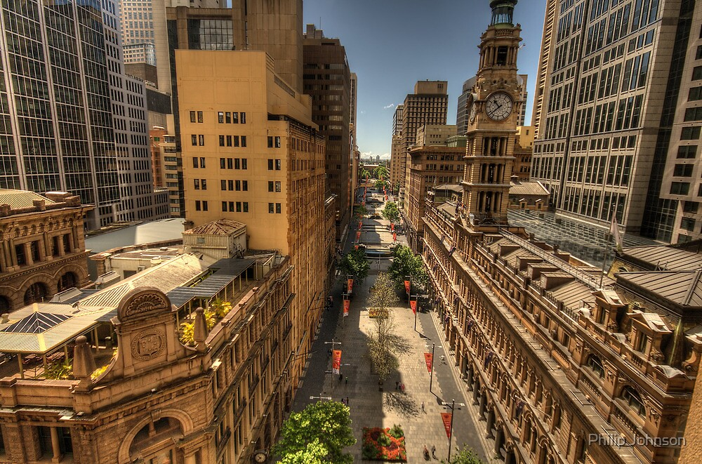 Martin Place,Sydney Australia - The HDR Experience by Philip Johnson