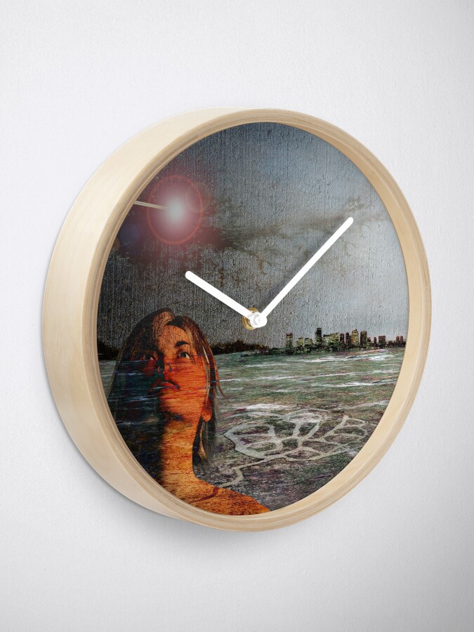 Alternate view of Aquila Fallen Clock