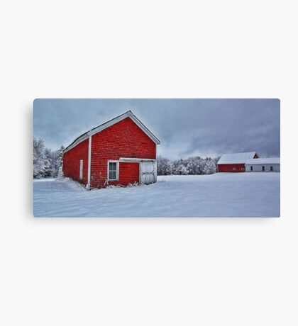The Lindscott Farm -- Bridgton, Maine Canvas Print