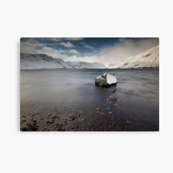 winter on loch muick Canvas Print