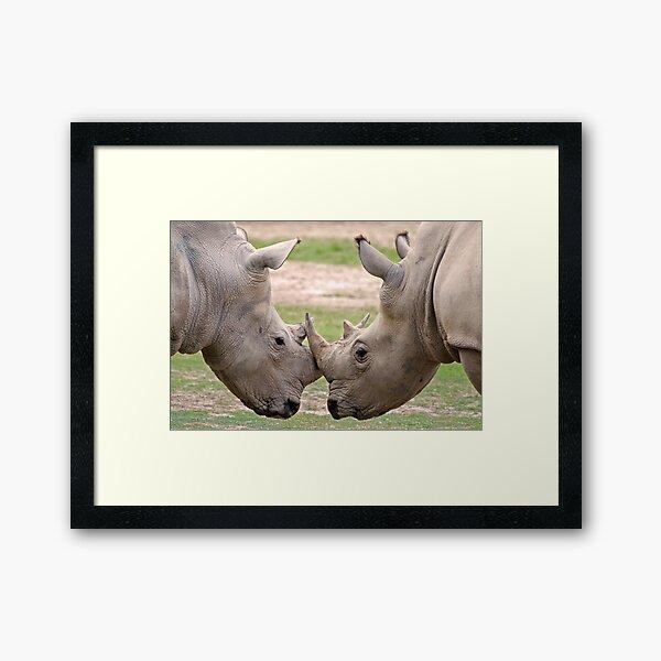En Garde Framed Art Print
