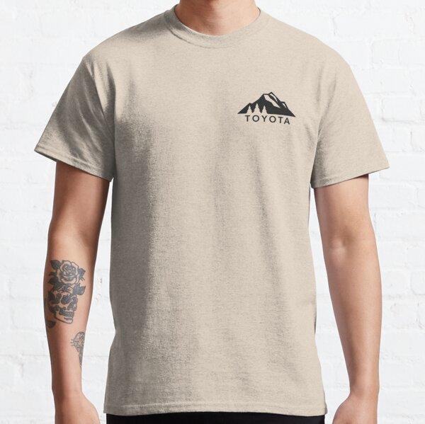 Toyota Mountain Logo Version 2 Black  Classic T-Shirt