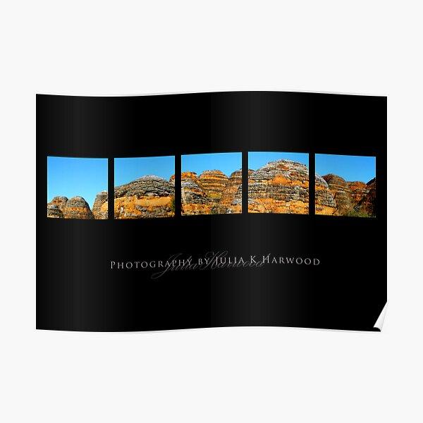 Bungle Bungle Panorama Poster