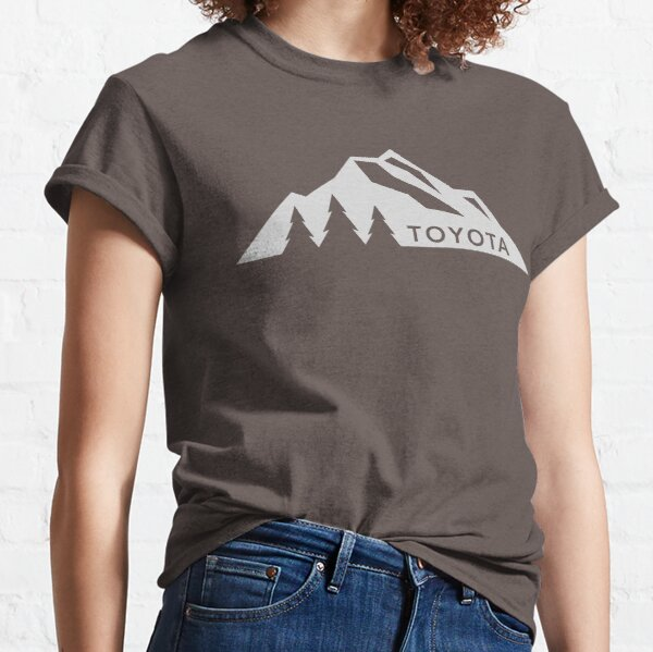 Toyota Mountain Logo Version 3 White  Classic T-Shirt