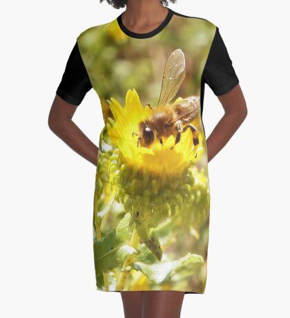 Honey Bee Graphic T-Shirt Dress