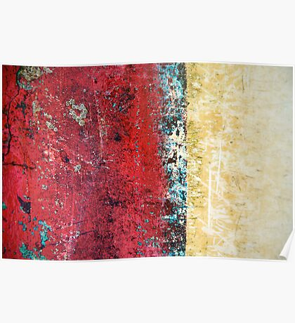 Boat Abstract Poster