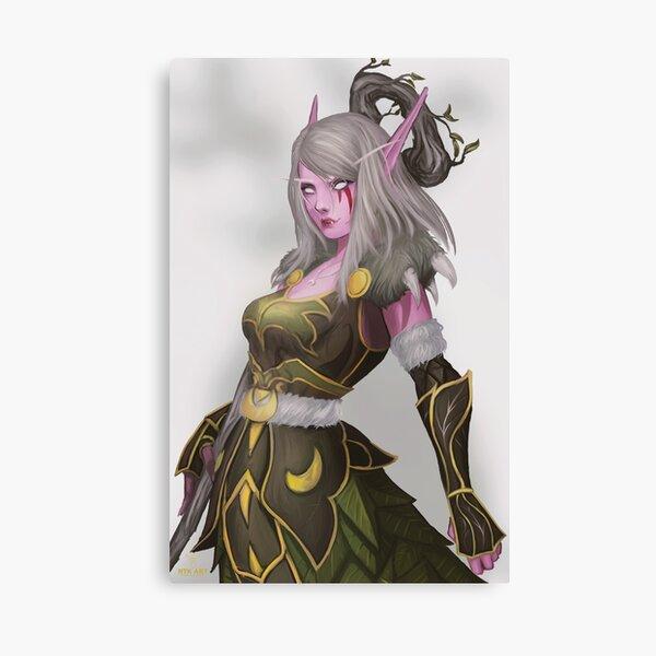 Estala Night Elf Druid Canvas Print
