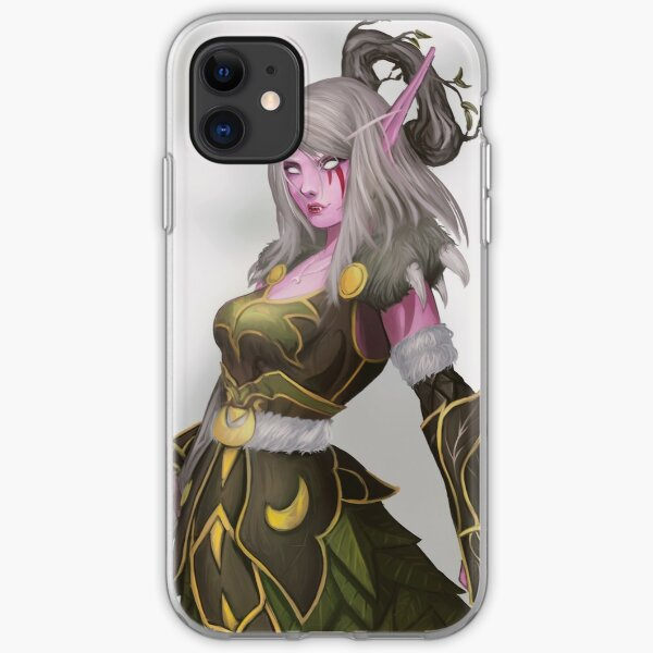 Estala Night Elf Druid iPhone Soft Case