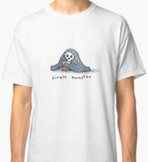 Pirate Hamster Classic T-Shirt