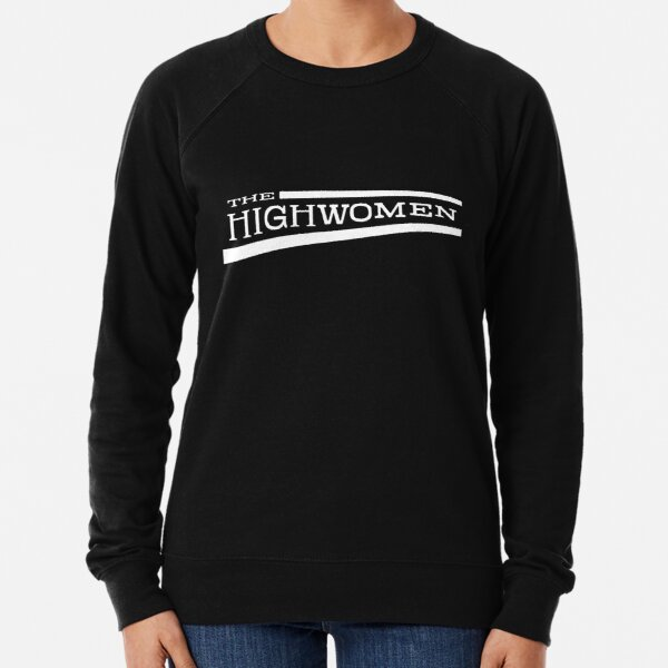 The Highwomen Logo White Lightweight Sweatshirt