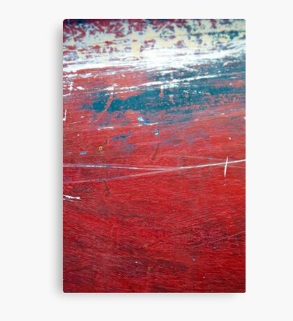 The red one Canvas Print