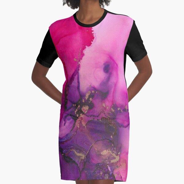 Blossoms II Graphic T-Shirt Dress