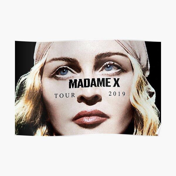 279338 Madonna Tour Madame X Super USA Star Singer PRINT GLOSSY POSTER FR