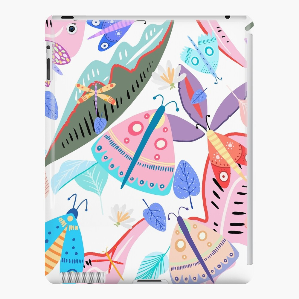 Butterflies and Flowers iPad Case & Skin