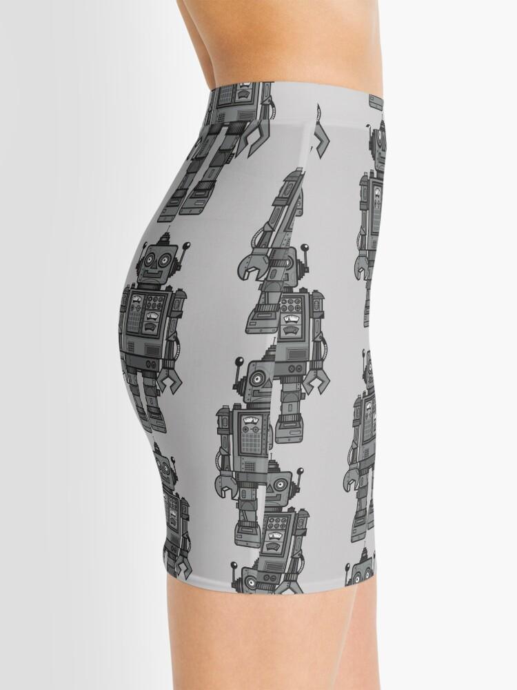 Alternate view of Vintage Robot Mini Skirt