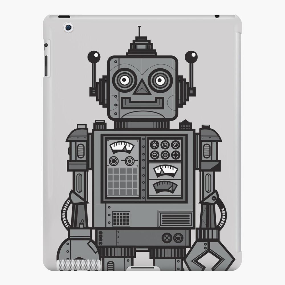 Weinlese-Roboter iPad-Hülle & Skin