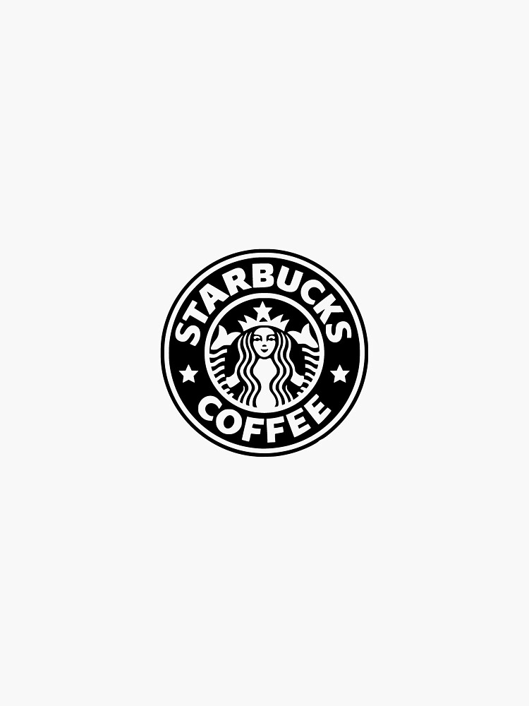 black starbucks logo by Jsmoll