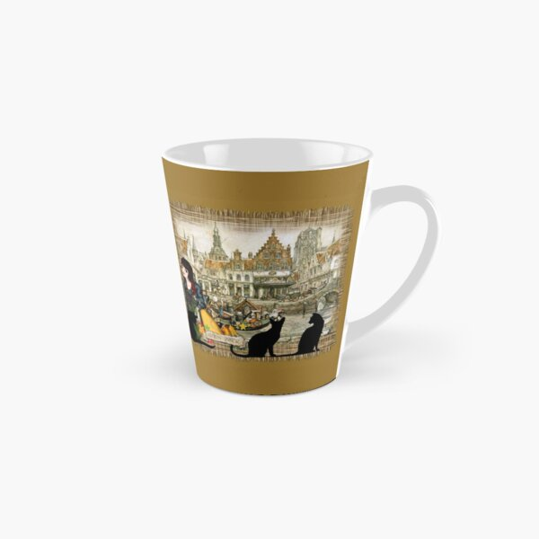 November - Canals in old Amsterdam Tall Mug