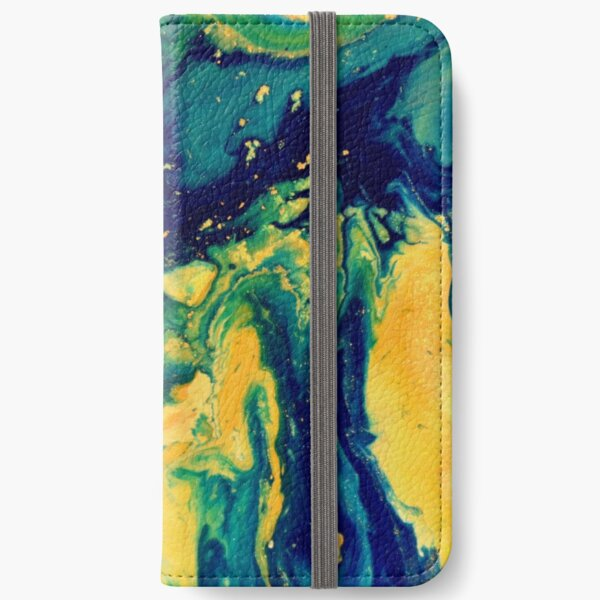 Abstract Magic 49 iPhone Wallet