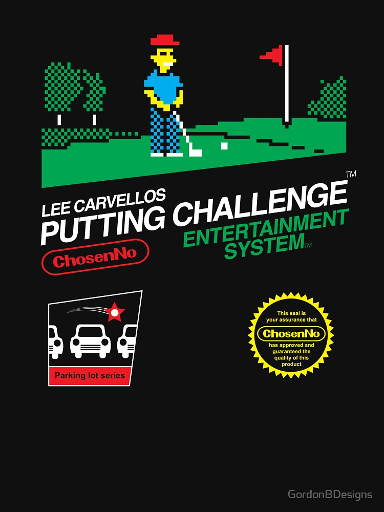 Lee Carvellos Putting Challenge | Unisex T-Shirt