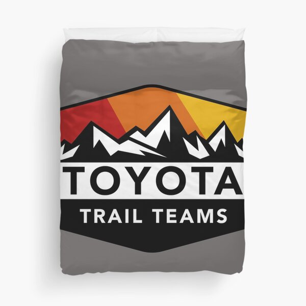 Toyota Trail Teams Colors Mountain Badge (unofficial) Duvet Cover