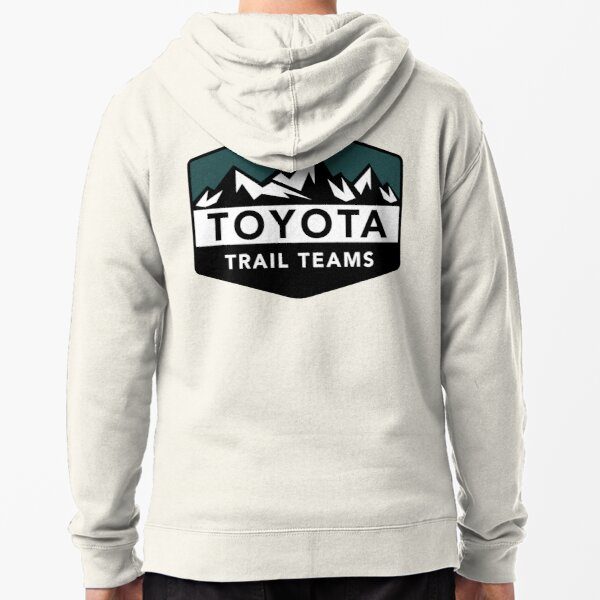 Copy of Toyota Trail Teams Green Mountain Badge (unofficial) Zipped Hoodie