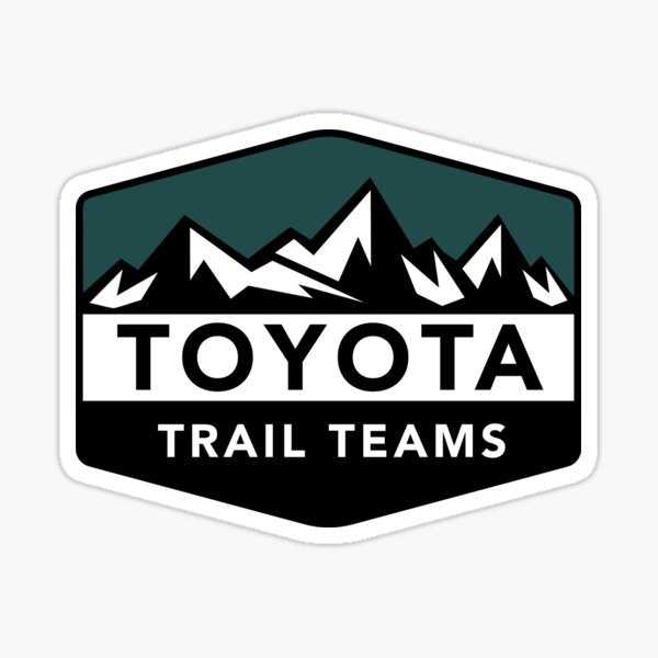 Copy of Toyota Trail Teams Green Mountain Badge (unofficial) Sticker