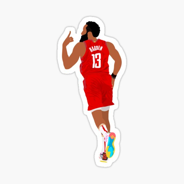 James Harden Sticker