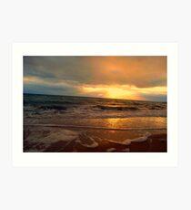 sunsets Art Print