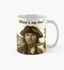 Ross Poldark in Cornwall Mug