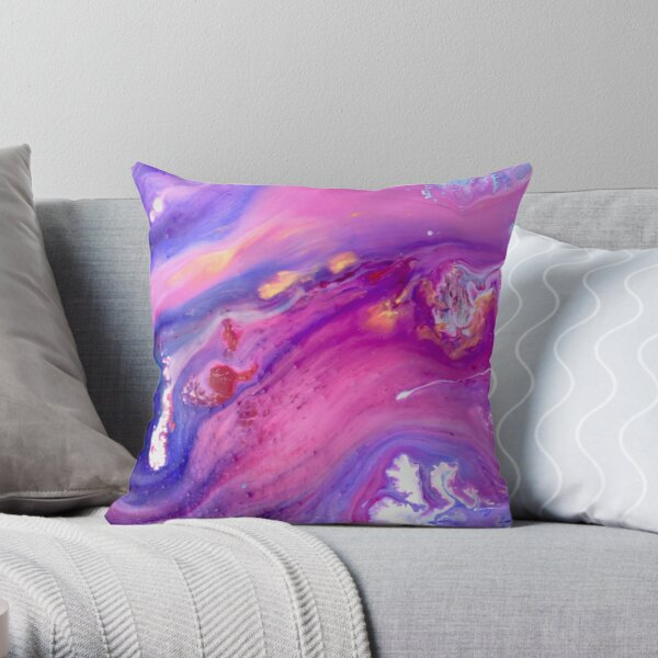 Abstract Magic 52 Throw Pillow