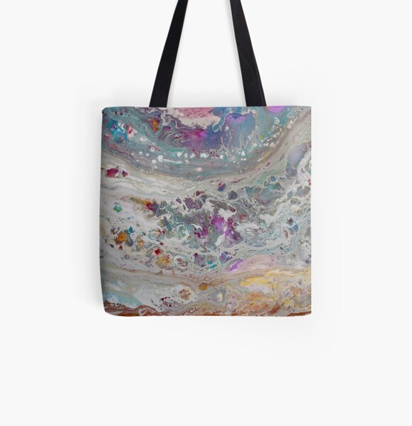 Abstract Magic 48 All Over Print Tote Bag