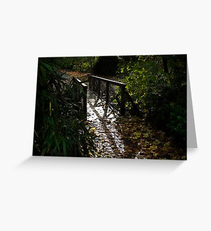 Manor Bridge Greeting Card