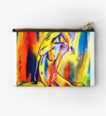 """""""Fire and gold"""" Studio Pouch"""
