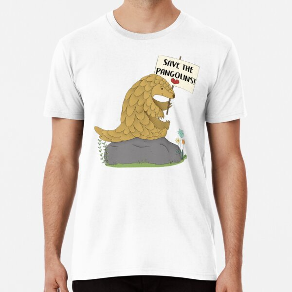 Save the Pangolins Premium T-Shirt