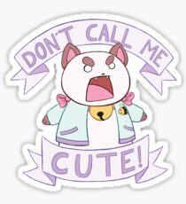 Puppycat - Don't Call Me Cute!  Sticker