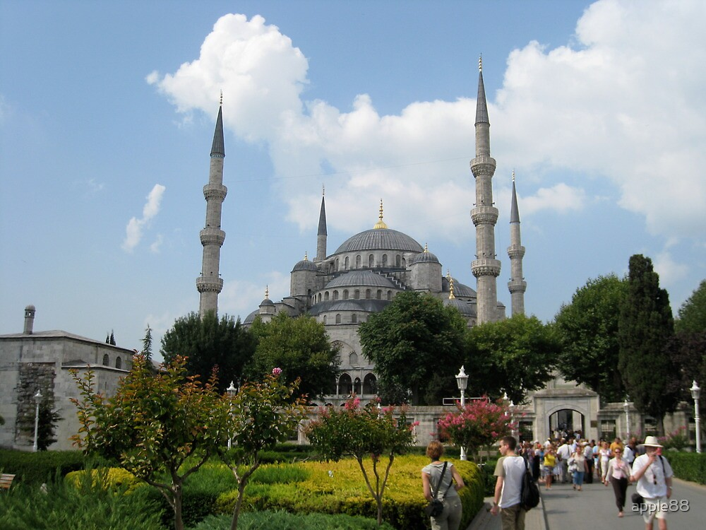 Blue Mosque by apple88