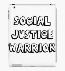 social justice warrior iPad Case/Skin