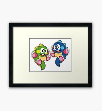 Bubble Bobble Framed Print