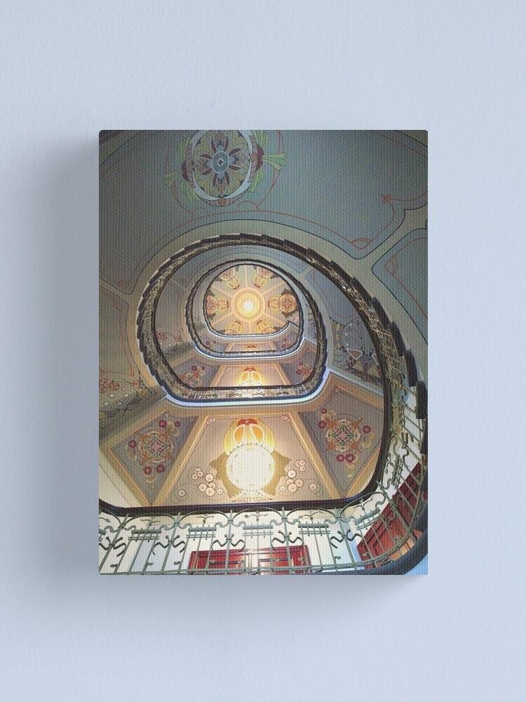 Alternate view of Art Nouveau in Riga Canvas Print