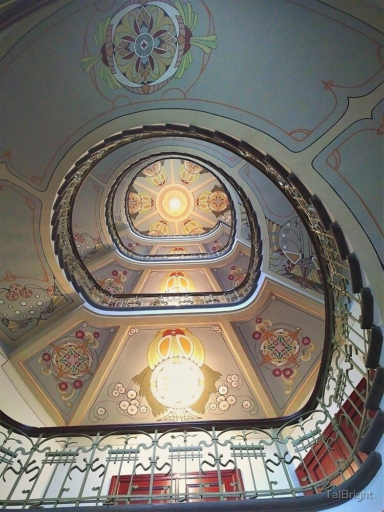 Art Nouveau in Riga by TalBright