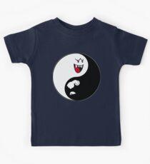 Yin And Yang / Super mario remake Kids Tee