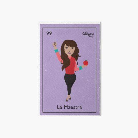 La Maestra Art Board Print