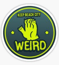 Keep Beach City Weird Sticker