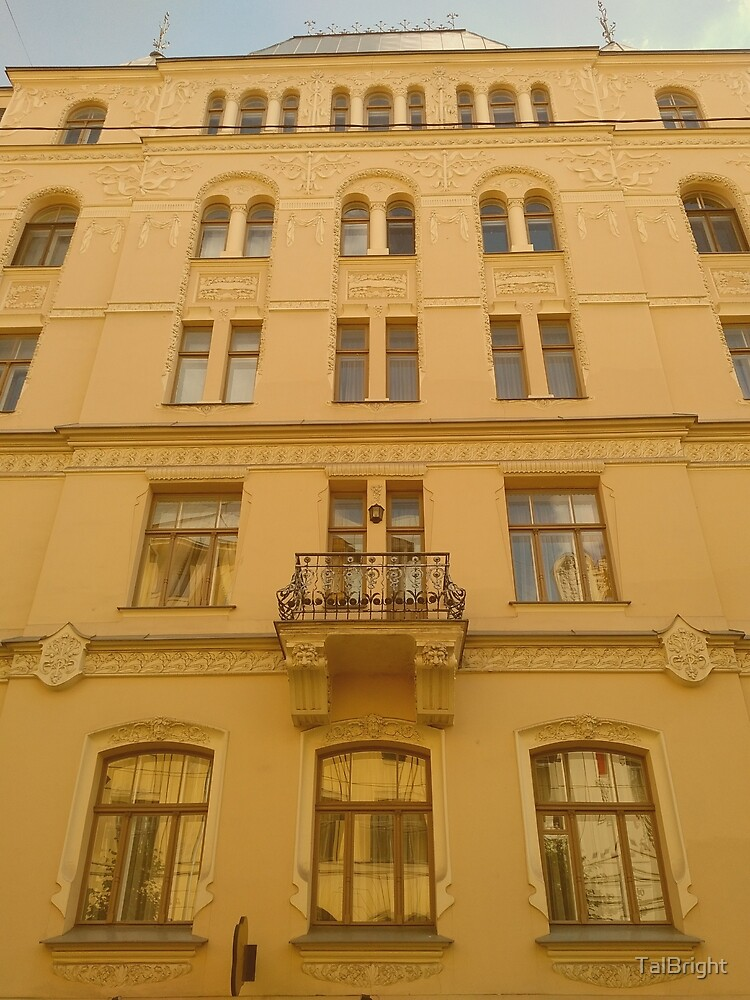 Art Nouveau architecture in Riga by TalBright