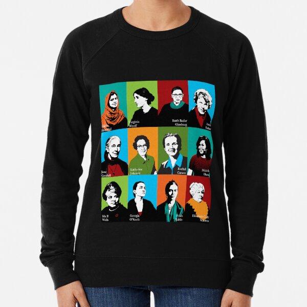 Feminist Icons Lightweight Sweatshirt