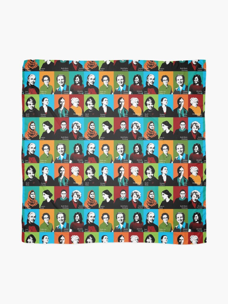 Alternate view of Feminist Icons Scarf