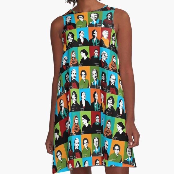 Feminist Icons A-Line Dress