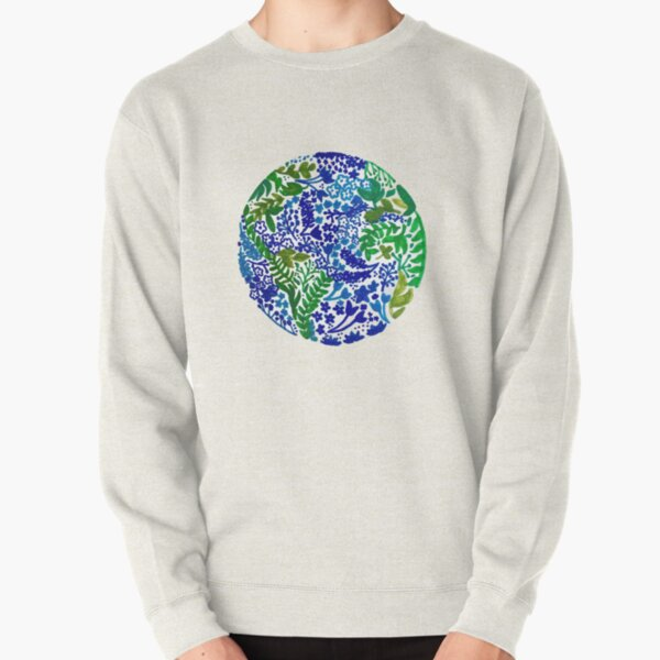 The Earth Laughs in Flowers Pullover Sweatshirt